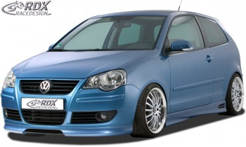 RDX Frontspoiler VW Polo 9N3 Frontlippe Front Ansatz Spoilerlippe