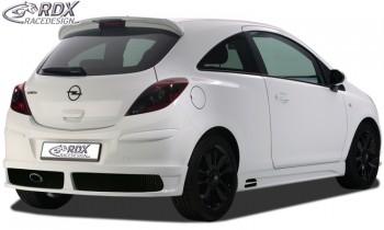 RDX Heckansatz Opel Corsa D Heckschürze Heck