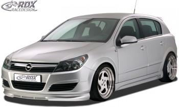 RDX Frontspoiler Opel Astra H 4/5 türig Frontlippe Front Ansatz Spoilerlippe