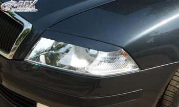 RDX Scheinwerferblenden Skoda Octavia 1Z -2008 Böser Blick