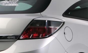 RDX Scheinwerferblenden für OPEL Astra H GTC HINTEN Heckblenden Böser Blick