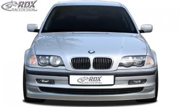 RDX Frontspoiler BMW E46 Limousine / Touring (bis 2002) Frontlippe Front Ansatz Spoilerlippe