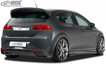 RDX Heckansatz für SEAT Leon 1P Facelift (ab 2009) Heckschürze Heck