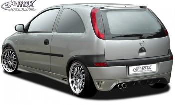 RDX Heckansatz Opel Corsa C Heckschürze Heck