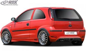 RDX Heckansatz Opel Corsa C Facelift Heckschürze Heck