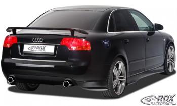 RDX Heckansatz Audi A4 B7 Heckschürze Seitenteile Heckschürzenecken