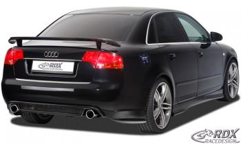 """RDX Heckansatz Audi A4 B7 Heckschürze Heck-Set: Heckblende """"RS4-Look"""" + Seitenteile"""