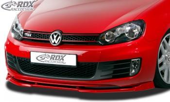 RDX Frontspoiler VARIO-X für VW Golf 6 GTD, GTI Frontlippe Front Ansatz Vorne Spoilerlippe