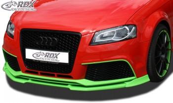 RDX Frontspoiler VARIO-X AUDI RS3 2011+ (3türig + Sportback) Frontlippe Front Ansatz Vorne Spoilerlippe