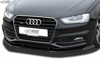 RDX Frontspoiler VARIO-X für AUDI A4 B8 Facelift 2011+ (S-Line- bzw. S4-Frontstoßstange) Frontlippe Front Ansatz Vorne Spoilerlippe