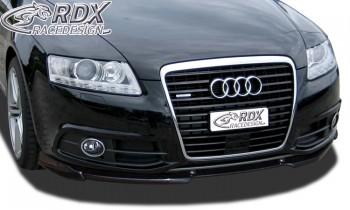 RDX Frontspoiler VARIO-X für AUDI A6 4F 2008-2011 (S-Line Frontstoßstange) Frontlippe Front Ansatz Vorne Spoilerlippe