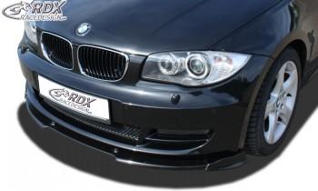 RDX Frontspoiler VARIO-X BMW 1er E82 / E88 Frontlippe Front Ansatz Vorne Spoilerlippe