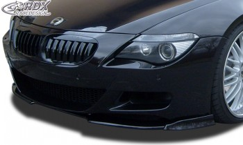 RDX Frontspoiler VARIO-X BMW 6er E63 M6 Frontlippe Front Ansatz Vorne Spoilerlippe