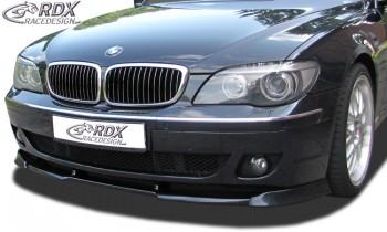 RDX Frontspoiler VARIO-X BMW 7er E65 / E66 2005+ Frontlippe Front Ansatz Vorne Spoilerlippe