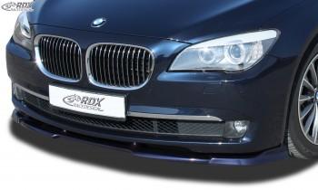 RDX Frontspoiler VARIO-X BMW 7er F01 / F02 (-2012) Frontlippe Front Ansatz Vorne Spoilerlippe