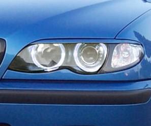 RDX Scheinwerferblenden BMW E46 Limo / Touring Facelift (2002+) Böser Blick