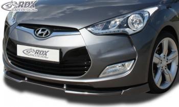 RDX Frontspoiler VARIO-X HYUNDAI Veloster Frontlippe Front Ansatz Vorne Spoilerlippe