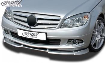RDX Frontspoiler VARIO-X für MERCEDES C-Klasse W204 -2011 Frontlippe Front Ansatz Vorne Spoilerlippe