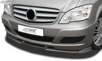 RDX Frontspoiler VARIO-X MERCEDES Viano W639 / V639 (2010+) Frontlippe Front Ansatz Vorne Spoilerlippe