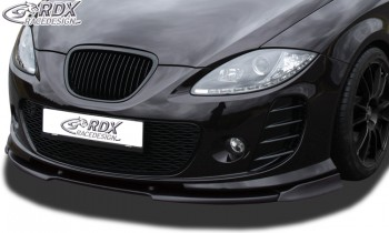 RDX Frontspoiler VARIO-X SEAT Leon 1P Facelift 2009+ mit Seat Aerodynamik-Kit Frontlippe Front Ansatz Vorne Spoilerlippe