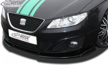 RDX Frontspoiler VARIO-X für SEAT Exeo Frontlippe Front Ansatz Vorne Spoilerlippe