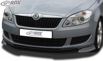 RDX Frontspoiler VARIO-X SKODA Fabia 2 Typ 5J 2010+ (auch für Roomster & Praktik) Frontlippe Front Ansatz Vorne Spoilerlippe