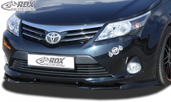 RDX Frontspoiler VARIO-X TOYOTA Avensis T27 2009+ Frontlippe Front Ansatz Vorne Spoilerlippe