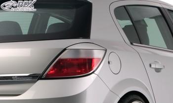RDX Scheinwerferblenden Opel Astra H HINTEN Heckblenden Böser Blick
