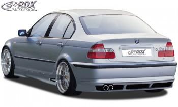 RDX Heckansatz für BMW E46 Limousine 2002+ Heckschürze Heck