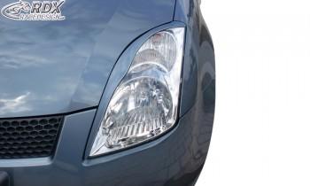 RDX Scheinwerferblenden Suzuki Swift MZ/EZ 2005-2010 Böser Blick