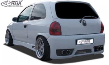 """RDX Heckstoßstange Opel Corsa B mit KZ-Mulde """"GT-Race"""" Heckschürze Heck"""