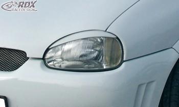 RDX Scheinwerferblenden für OPEL Corsa B Böser Blick