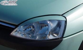 RDX Scheinwerferblenden Opel Corsa C Böser Blick