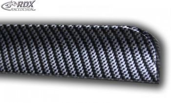 RDX Hecklippe für SEAT Exeo Limousine Heckklappenspoiler Heckspoiler CARBON Look