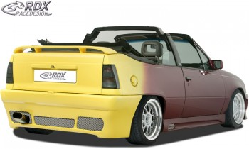 """RDX Heckstoßstange Opel Kadett E """"GT4"""" Heckschürze Heck"""