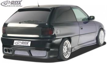 "RDX Heckstoßstange Opel Astra F mit KZ-Mulde ""GT-Race"" Heckschürze Heck"