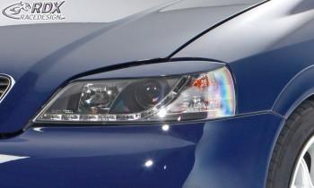 RDX Scheinwerferblenden für OPEL Astra G Böser Blick