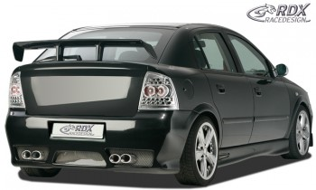 """RDX Heckstoßstange Opel Astra G mit KZ-Mulde """"GT-Race"""" Heckschürze Heck"""