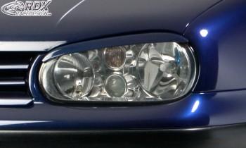 RDX Scheinwerferblenden VW Golf 4 Böser Blick