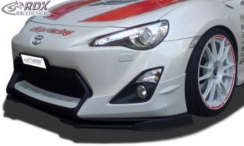 RDX Frontspoiler VARIO-X TOYOTA GT86 (Passend an Fahrzeuge mit Aero-Paket) Frontlippe Front Ansatz Vorne Spoilerlippe