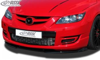 RDX Frontspoiler VARIO-X MAZDA 3 MPS (BK) 2006-2009 Frontlippe Front Ansatz Vorne Spoilerlippe