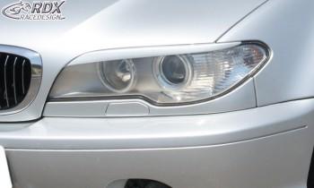 RDX Scheinwerferblenden BMW E46 Coupe / Cabrio Facelift (2003+) Böser Blick