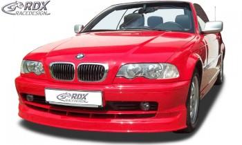 RDX Frontspoiler BMW E46 Coupe / Cabrio (-2002) Frontlippe Front Ansatz Spoilerlippe