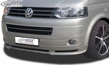 RDX Frontspoiler VW T5 Facelift (2009+) Frontlippe Front Ansatz Spoilerlippe