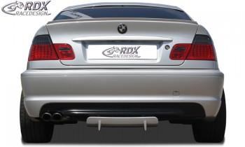 RDX Heckdiffusor U-Diff für BMW E46 (alle, auch M-Technik, M3, Touring, ...) Diffusor Heck Ansatz