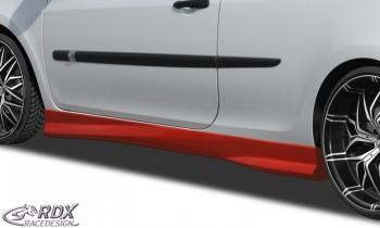 """RDX Seitenschweller RENAULT Clio 3 Phase 1 & 2 (nicht RS) """"Turbo"""""""