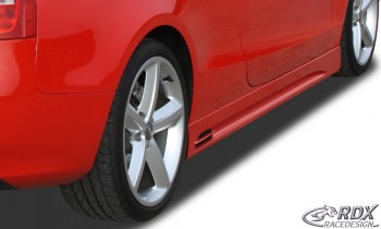 "RDX Seitenschweller Audi A5 Coupe + Cabrio ""GT-Race"""