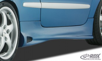Peugeot 206 CC & 3 Dr Hatch GT-4 Side Skirts - GRP