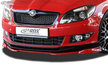 RDX Frontspoiler VARIO-X SKODA Fabia 2 Typ 5J 2010+ Monte Carlo Frontlippe Front Ansatz Vorne Spoilerlippe