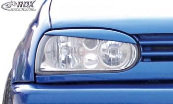 RDX Scheinwerferblenden VW Golf 3 (schräge Version) Böser Blick
